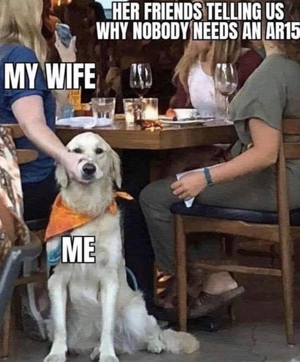 Dinner for Karen's - meme