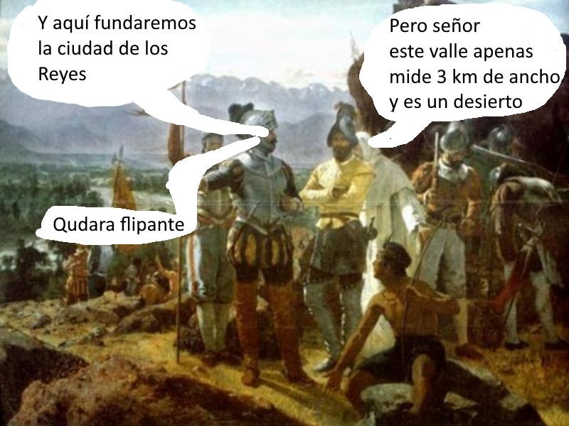 Basado en el meme de la fundación de Ciudad de México. Si es malardo no lo aprueben no estoy seguro