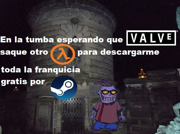 Como cuando Half-Life: Alyx - meme