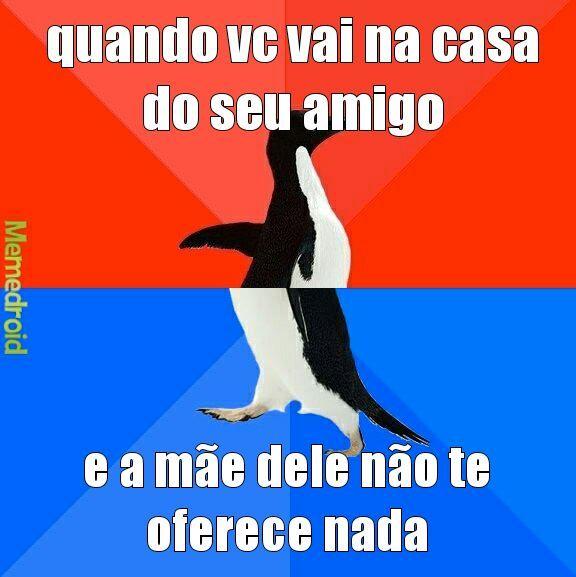 Penguin babaca - meme