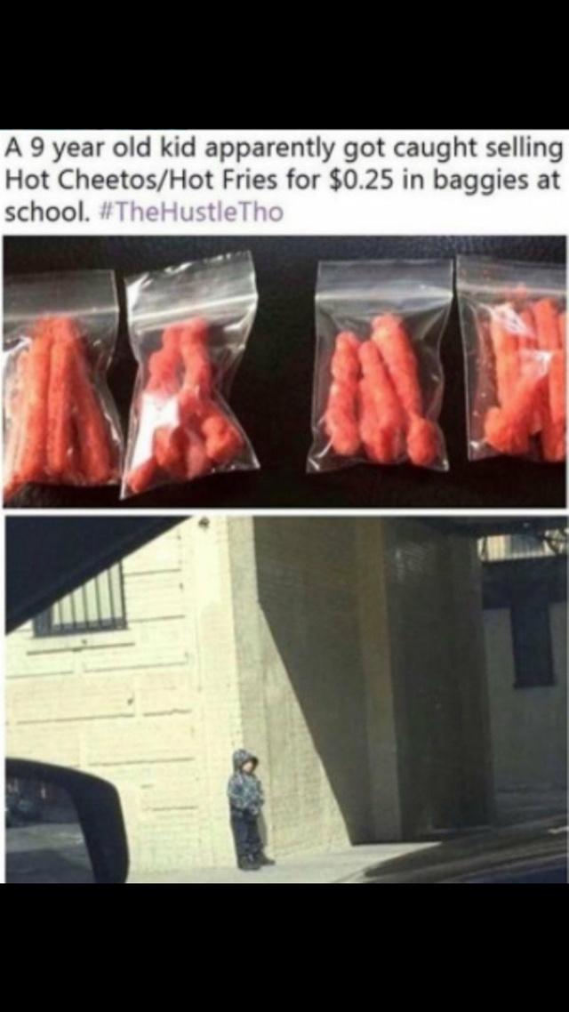 Cheetos dealer - meme