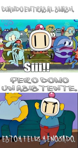 Pobre Bomberman. - meme