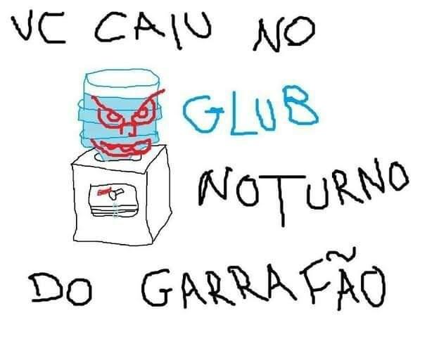 GLUB GLUB - meme