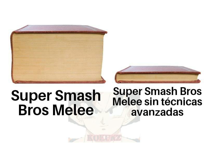 No piensen mal, amo Melee, pero sin la técnicas avanzadas es menos de la mitad de lo que es el juego :cool: - meme