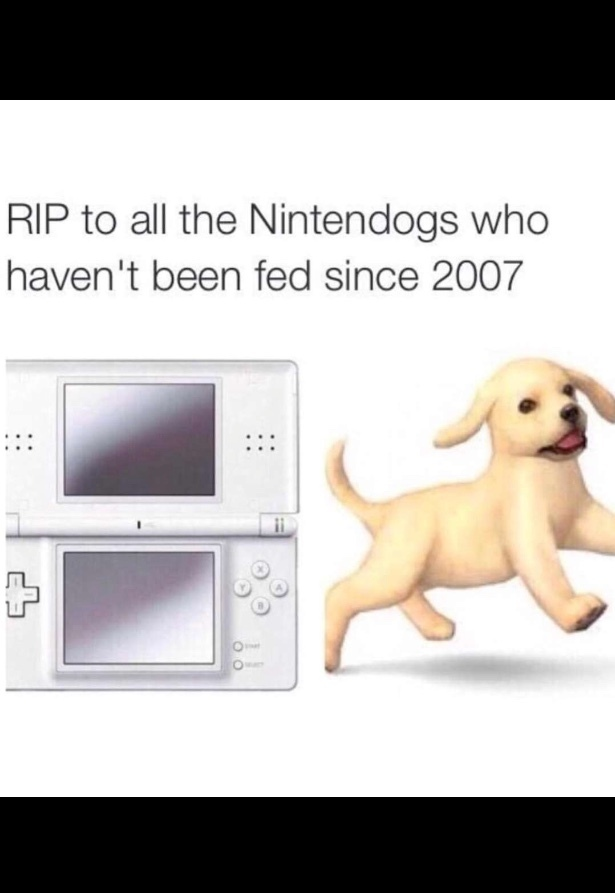wheres my ds players in the comments? - meme