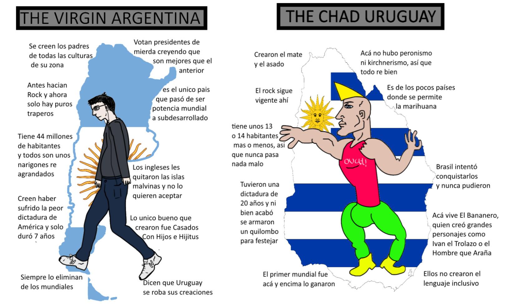Argentina Vs Uruguay - meme