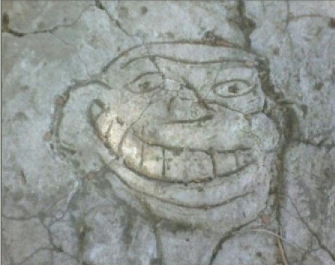 Trolleador Cemento (No Se Si es Repost) - meme