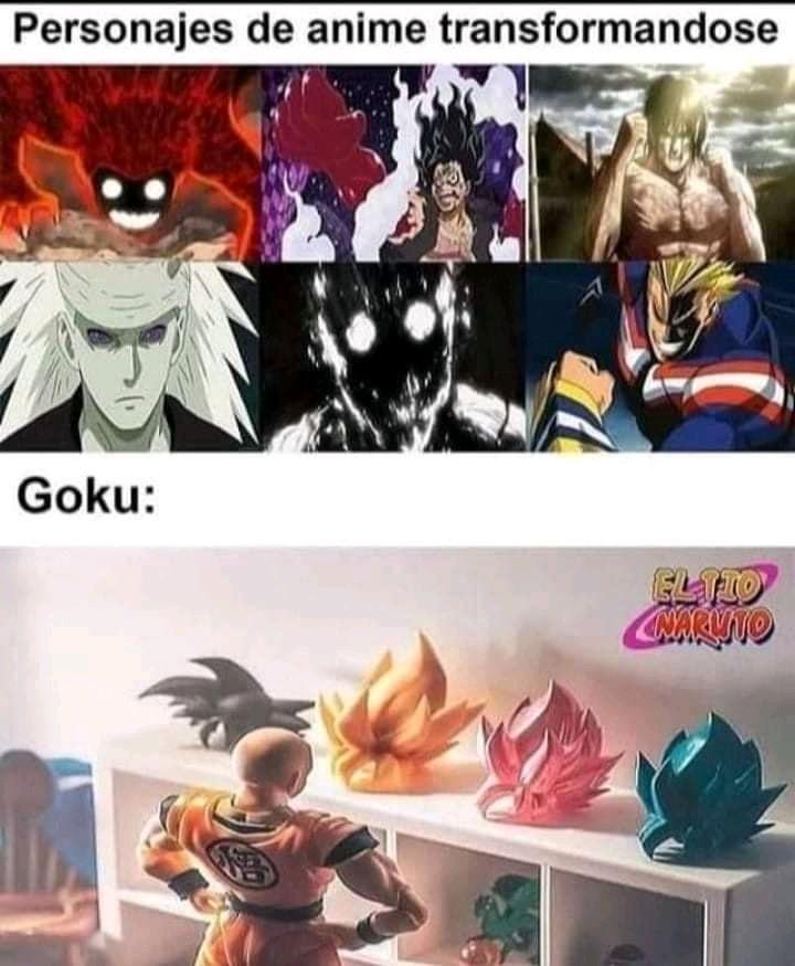 Dragon ball es el mejor anime (pero es cierto :v) - meme