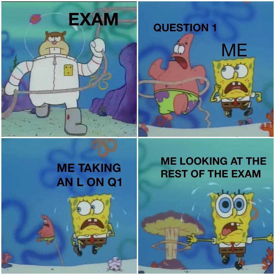 I failed Merit testing - meme