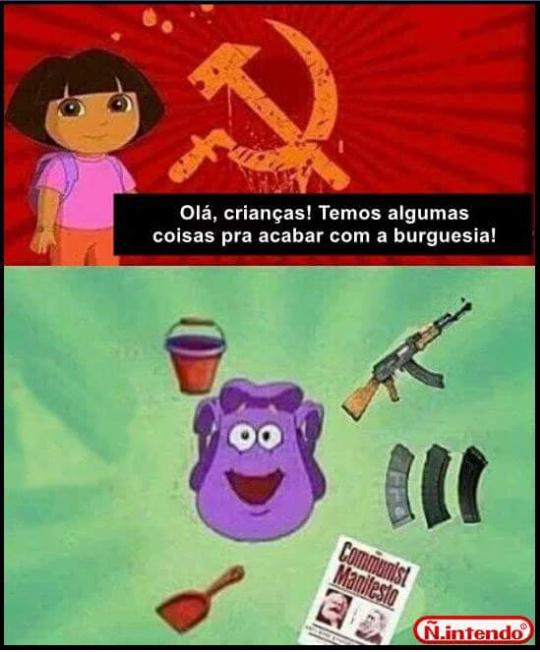 Por isso q se deve ter vacinação contra o comunismo - meme