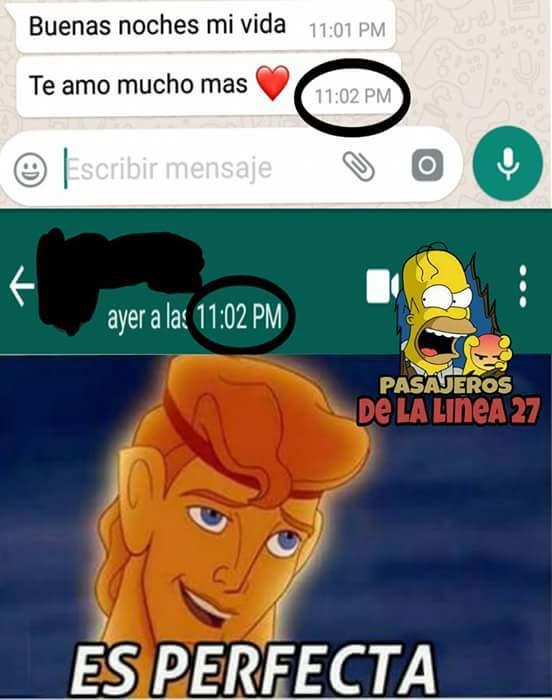 Perfecta - meme