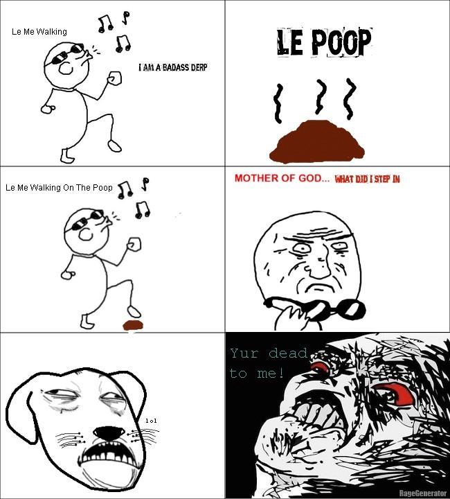 Dog poop - meme