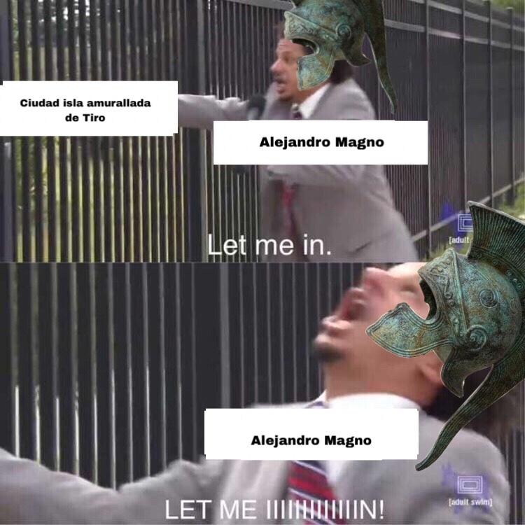 asedio de tiro - meme