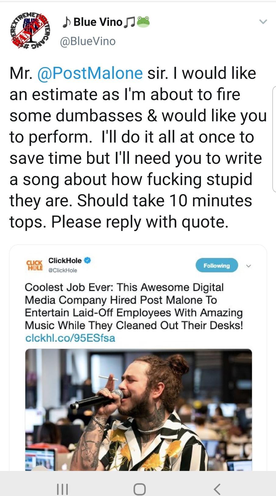 Estimate request - meme