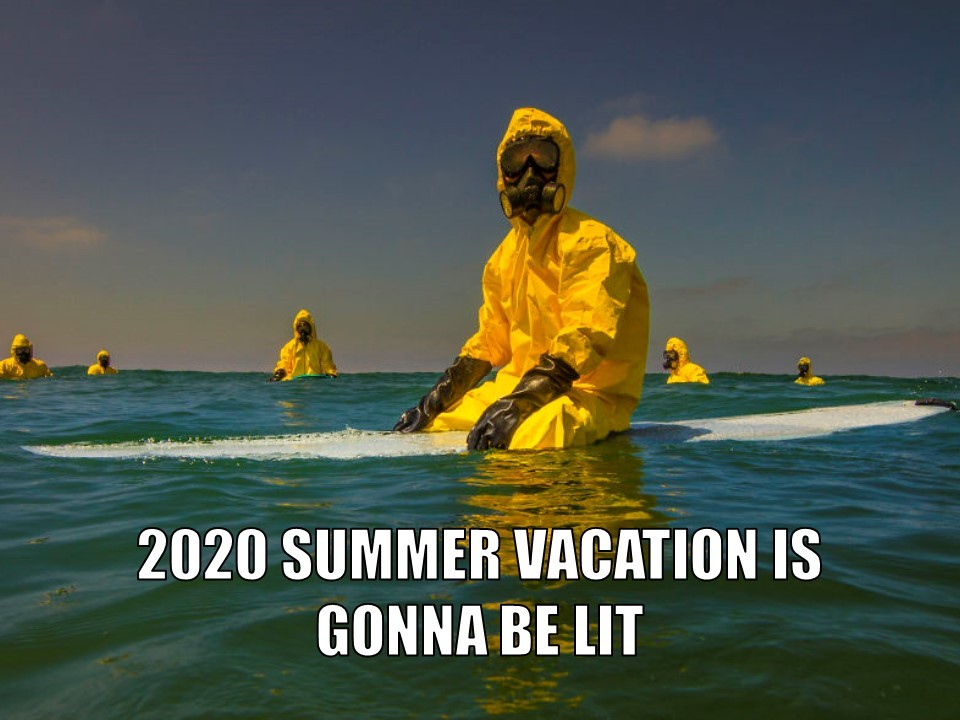 2020 Summer Vacation - meme