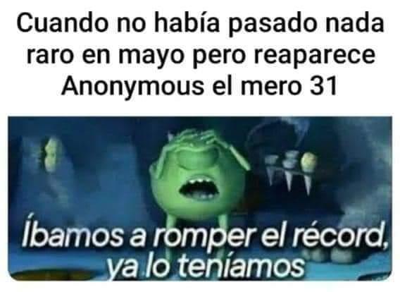 Mayo 31 - meme