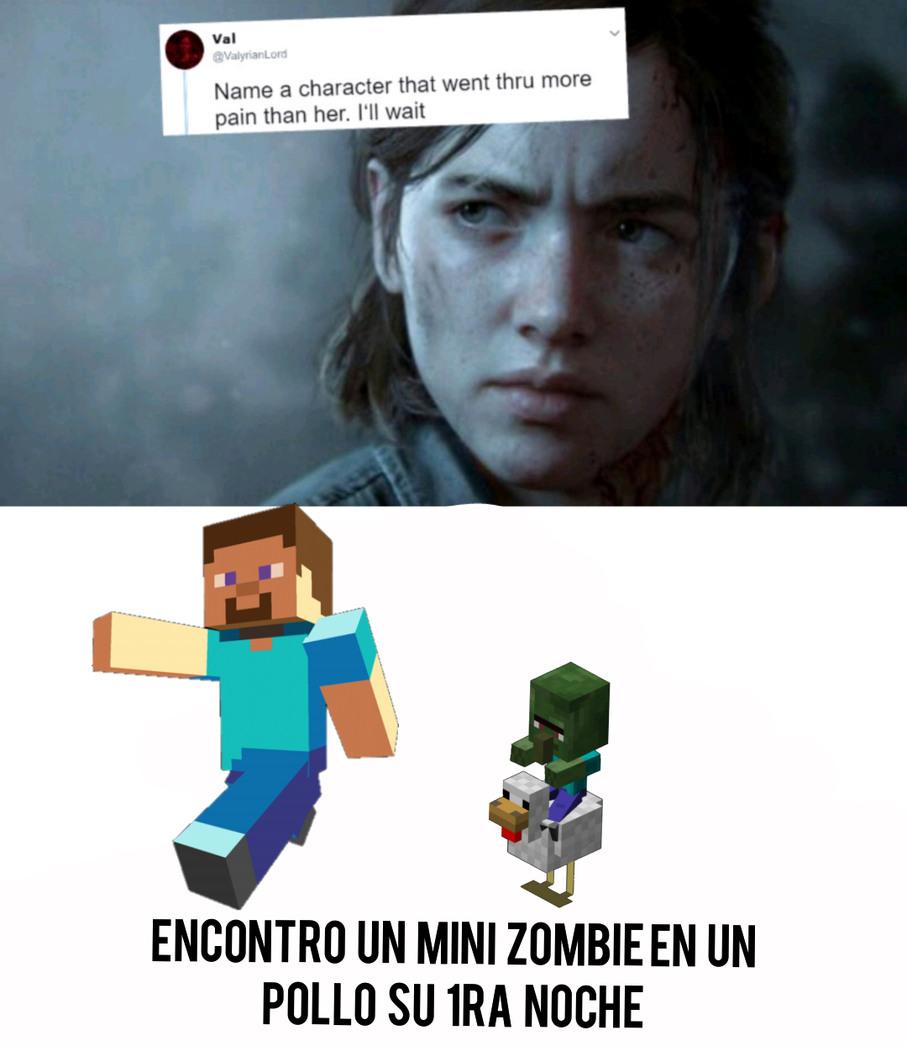 Mini zombies - meme