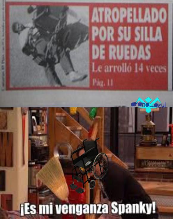 Las sillas son malas - meme