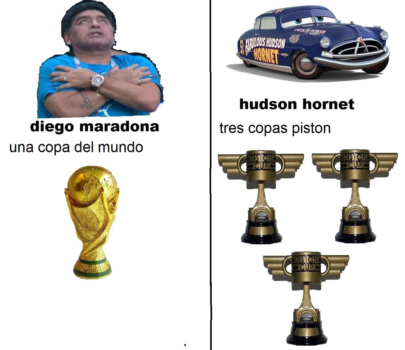 Hudson fue primero - meme