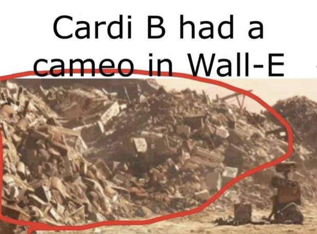 Cardi B - meme