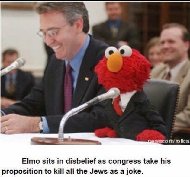 Elmo, Leader of the Third Reich - meme