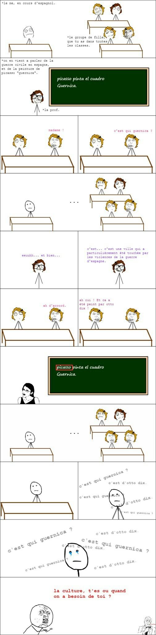 cours d'espagnol.