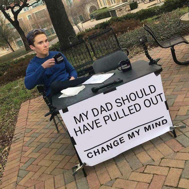 Yes he should have - meme