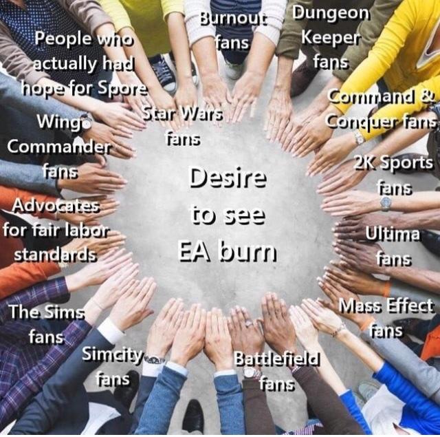 EA should commit die - meme