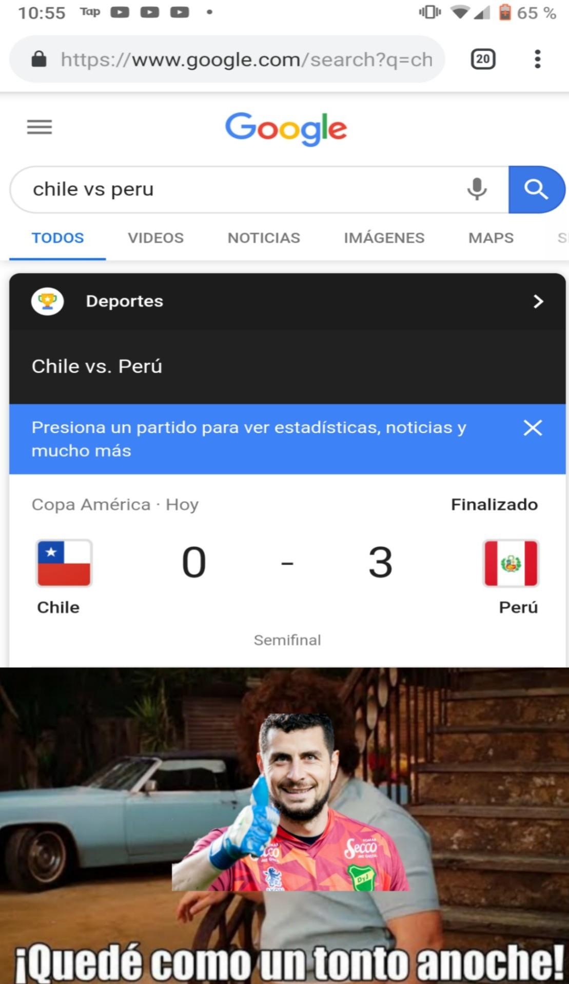 F por Chile ( yo soy de Chile) - meme