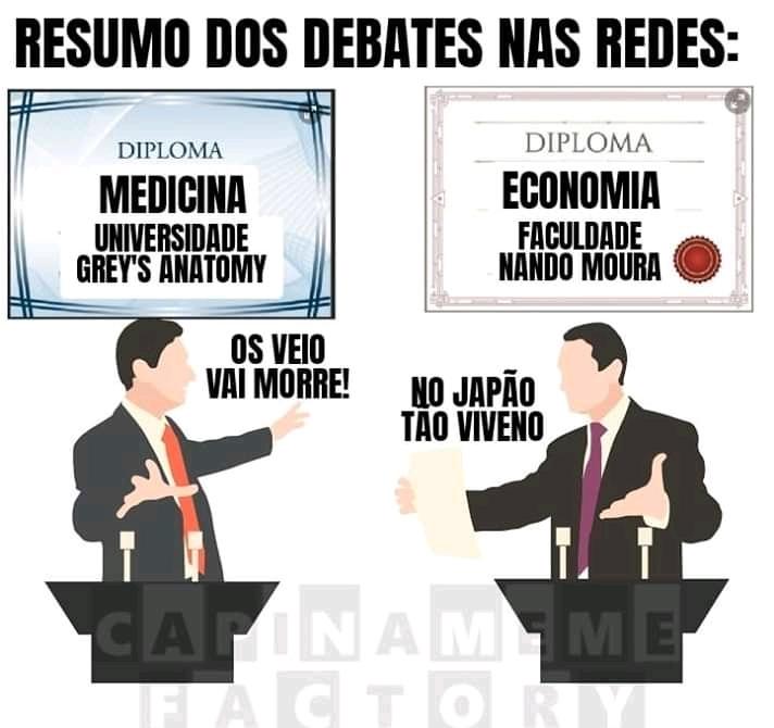 Faltou a universidade de filosofia Dr Olavo de Carvalho - meme