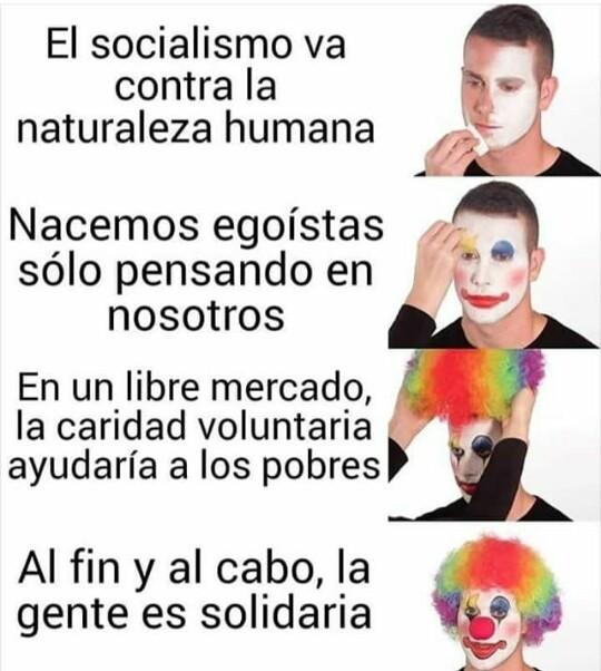 Libertario promedio - meme