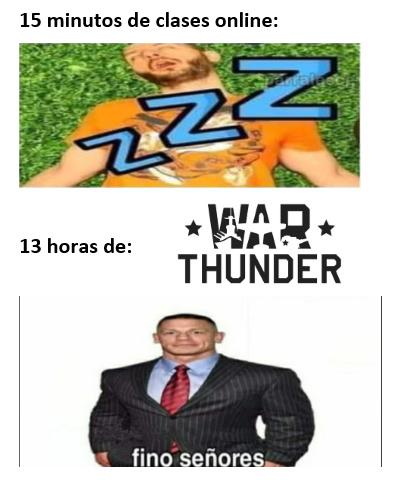 contexto: war thunder es buen juego, se lo recomiendo a cualquier enjoyer de la SGM - meme