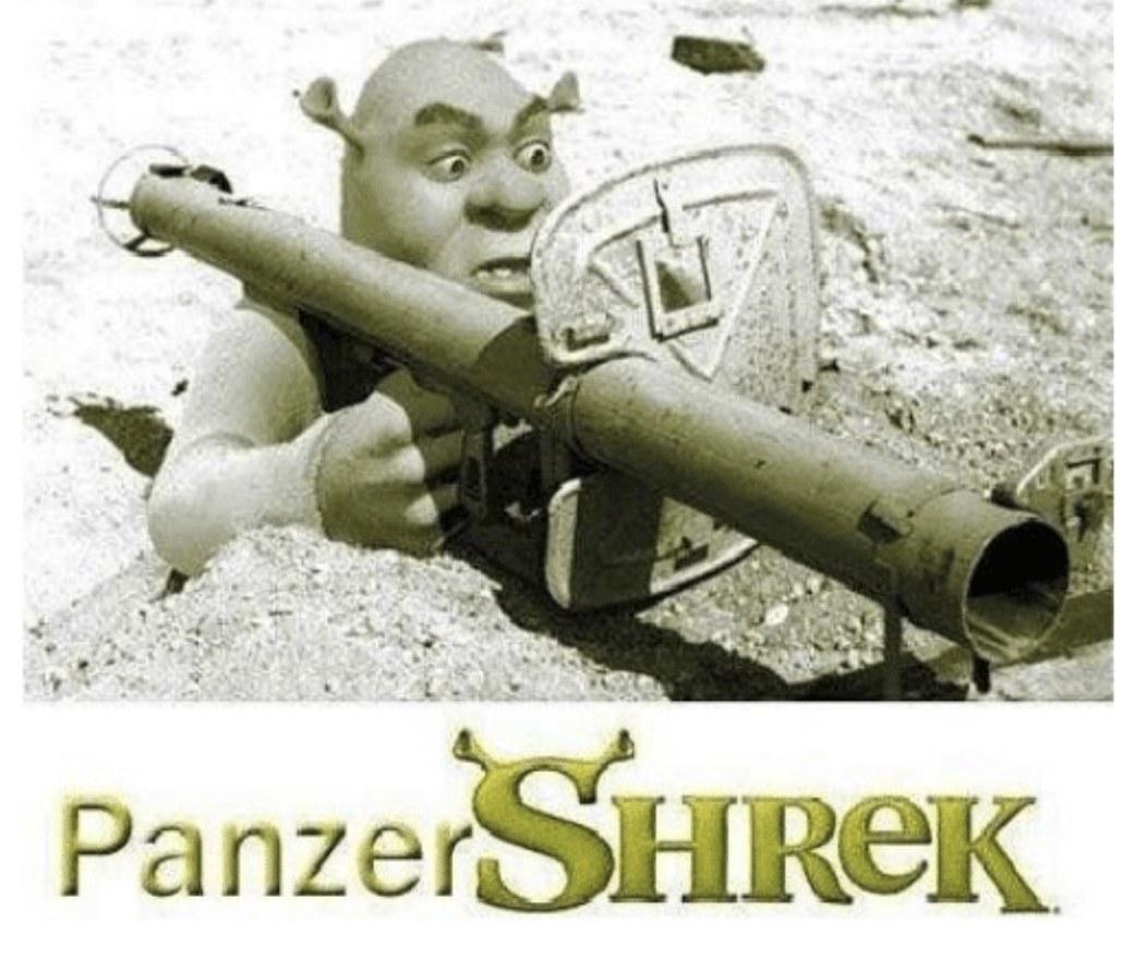 Das panzer shrek - meme