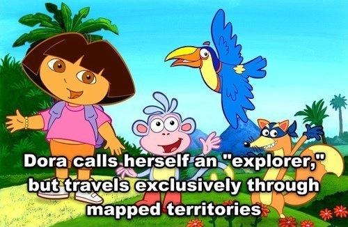 Dora the liar - meme