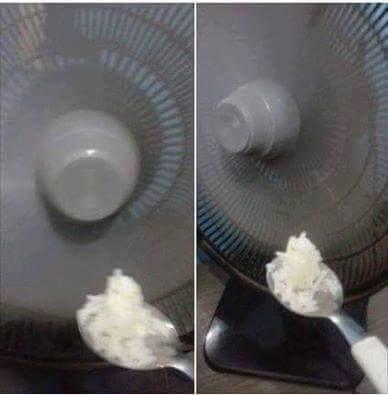 meu ventilador n qr comer ;[ - meme