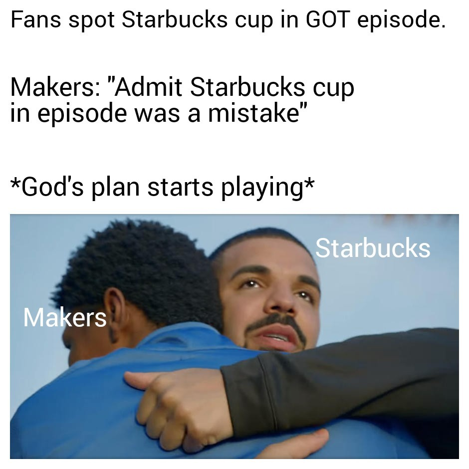 Game of thrones and makers - meme