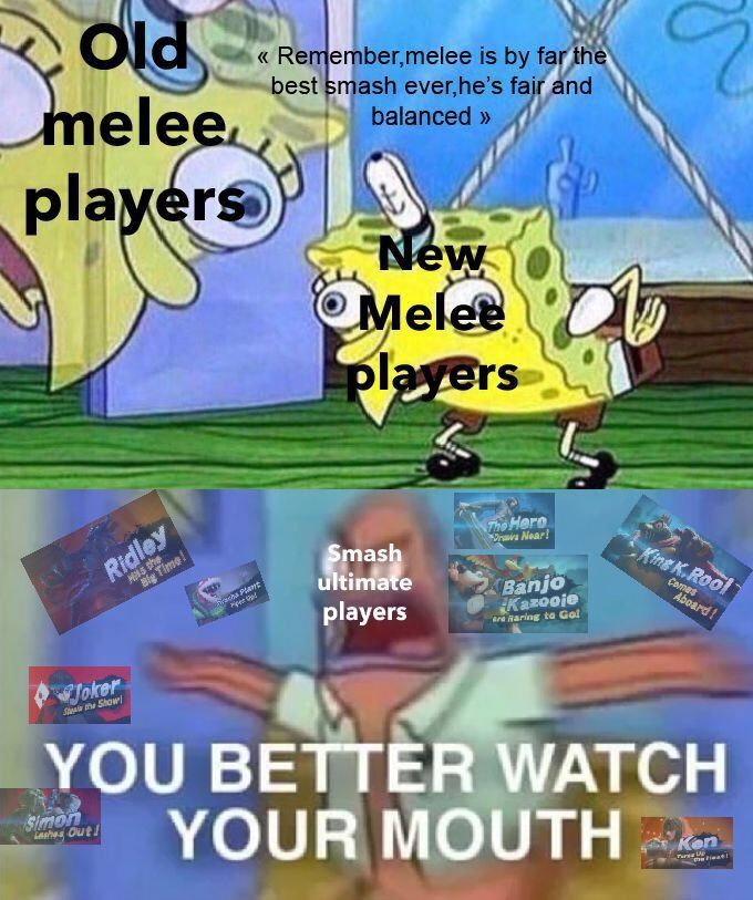 Melee players in a nutshell 2 - meme