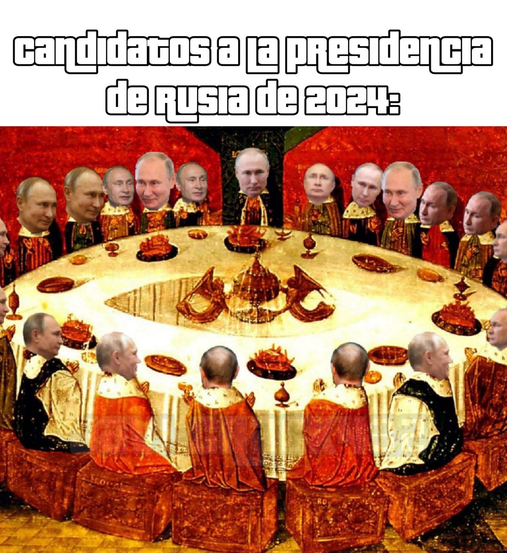 Vladimir Vladimirovich Putin - meme