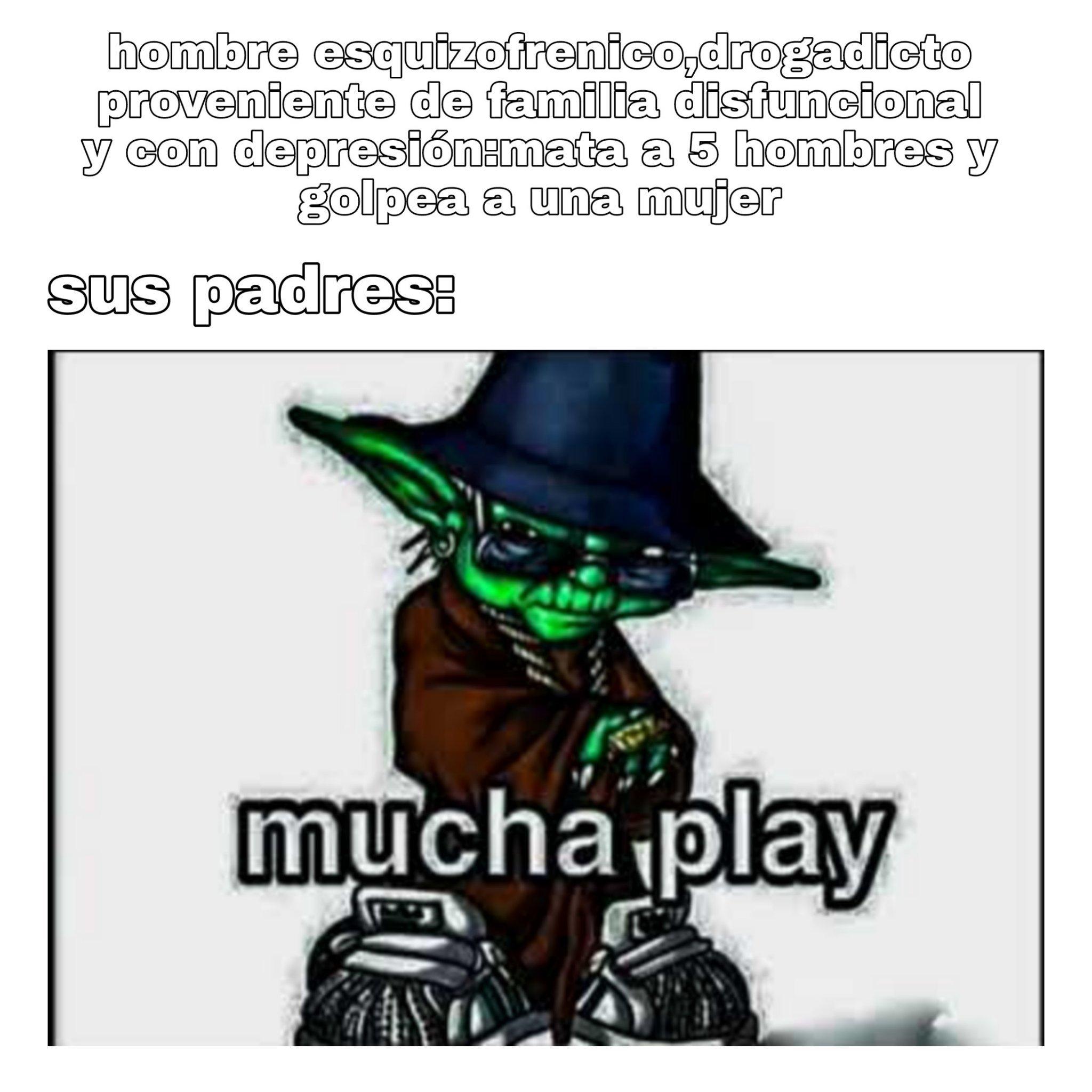 Mucha plei - meme
