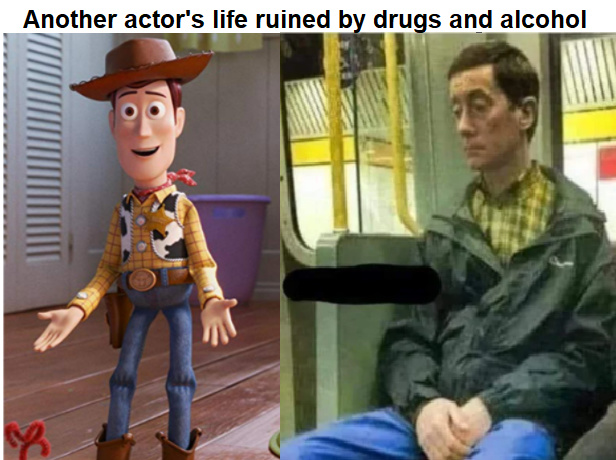 woodys tragic life - meme