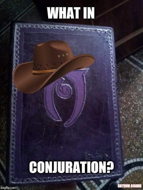 Favorite Skyrim spells? - meme