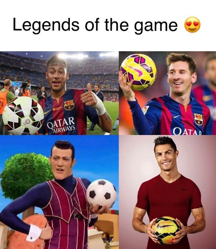 The best players! - meme