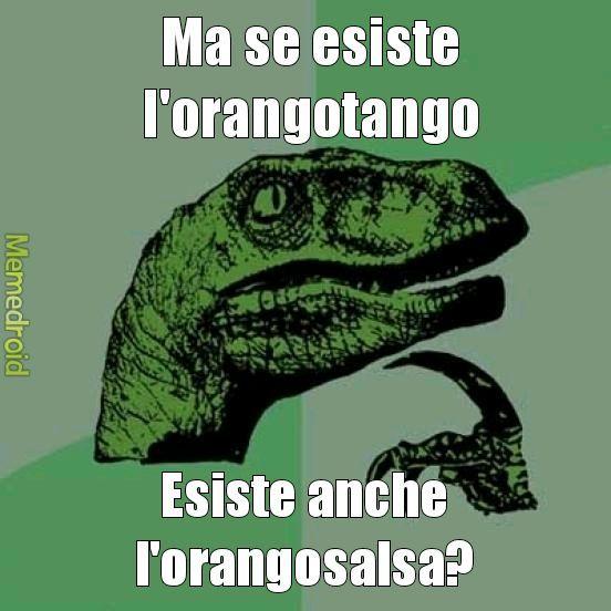 Scimmieeeeee - meme