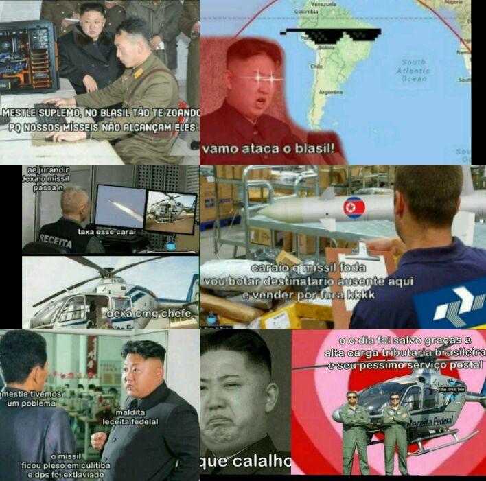 Motivo da Coréia não atacar os br - meme