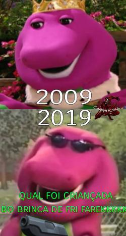 Lembra do barney? - meme