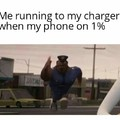 Forgot to charge