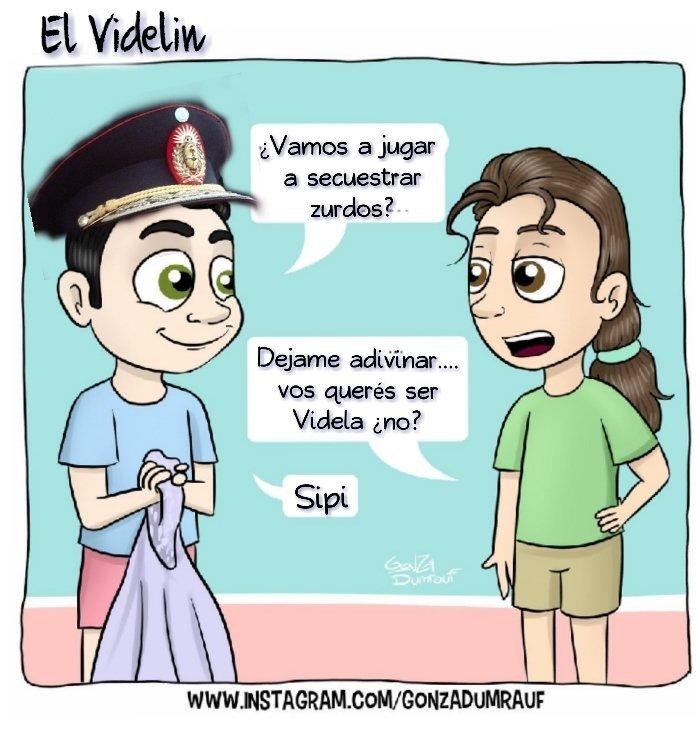 Gonzalo Rafael Videla. - meme