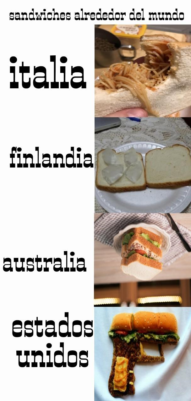 Mas que nada, queria utilizar la pistola sandwich (las hambueguesas cuentan como sndwich) - meme