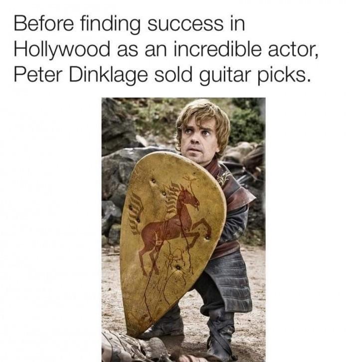 Nice guitar pick - meme
