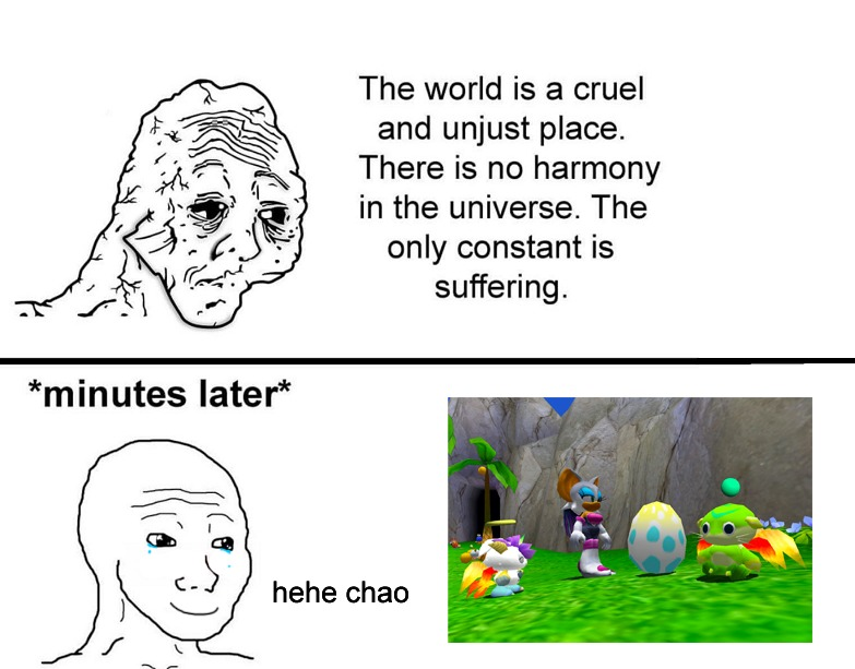 Chao Gardeners Represent! - meme